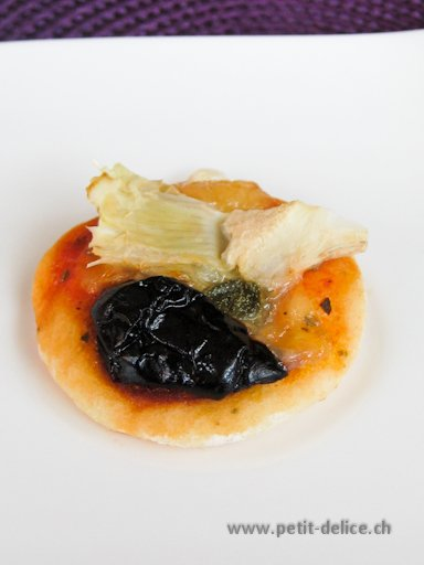 Mini-Pizza Capricciosa