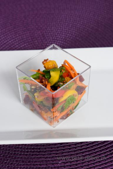 Catering • Partyservice • Roter Quinoa Salat
