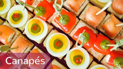 Catering • Partyservice • Canapés