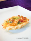 Catering • Partyservice • Paprika-Lauch Quiche